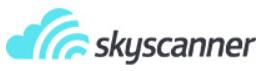 Skyscanner-Banner reise dich frei