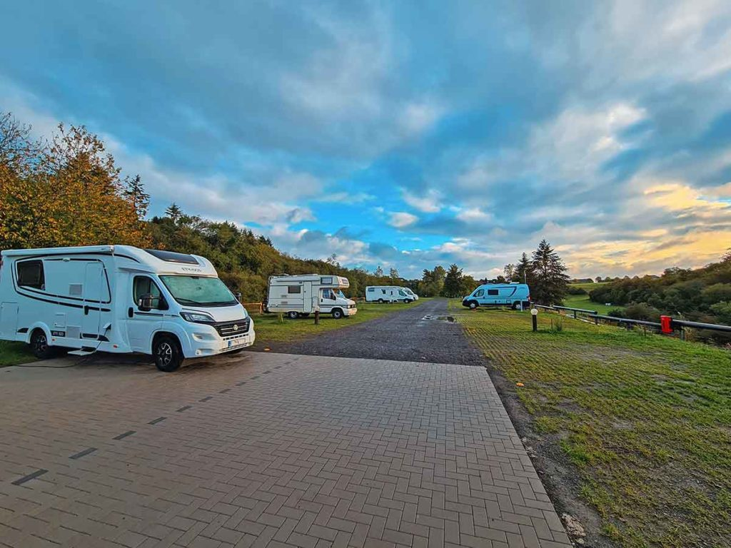 Camper mieten - den richtigen Stellplatz findfen