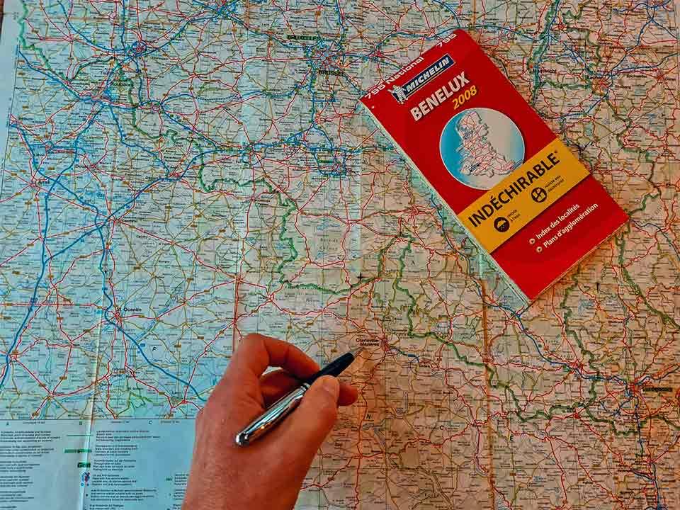 Camper mieten - route planen